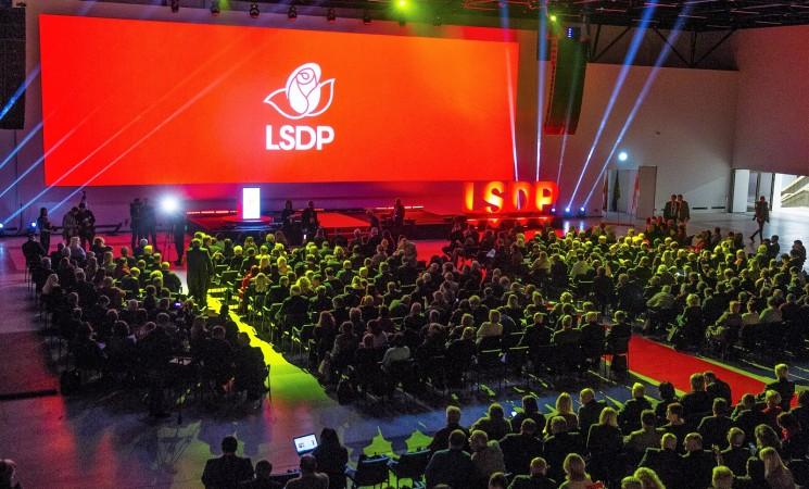 Socialdemokratai patvirtino partijos pirmininko rinkimų tvarką