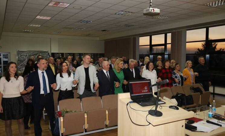 Skyriaus ataskaitinė-rinkiminė konferencija